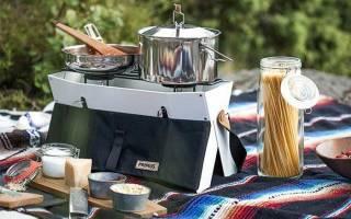 Идеи как с минимальными затратами сделать плиту для приготовления пищи на свежем воздухе