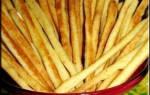 «Сырная соломка за 25 минут»