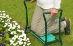 Садовая скамейка-перевертыш 2 в 1