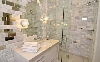 Какой материал для отделки ванной комнаты не боится воды, кроме плитки