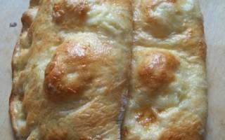 Хачапури с сыром и вареным яйцом: вкусный и экономичный рецепт.
