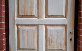 Как отремонтировать деревянные межкомнатные двери