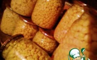 Сахарная консервированная кукуруза на зиму, своими руками. Вкуснее покупной.