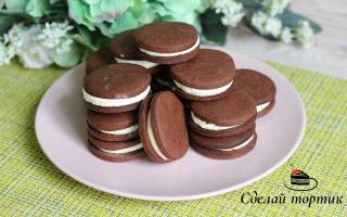 Домашнее печенье» Орео»