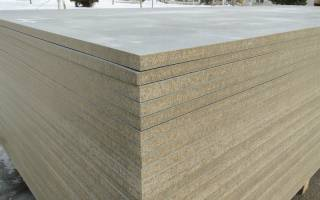 ЦСП или цементно-стружечная плита