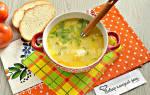 «Сырный суп с рисом»