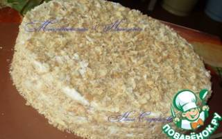 Тортик на десерт — быстрый и вкусный!
